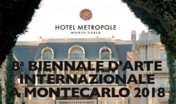 8° BIENNALE INTERNAZIONALE D'ARTE A MONTECARLO 2018 - {	Exhibitions - Interviews & Books}